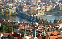 Prague from St.Vitus Cathedral