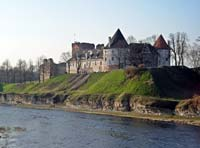 Bauska castle and duke palace