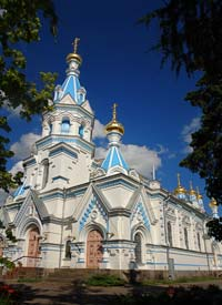 Daugavpils Orthodox church of St. Boris and Gleb