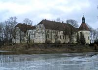 Jaunpils castle from the west