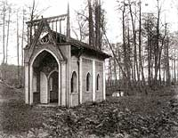 Gazebo in the park of palace, 1920ies