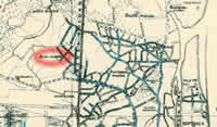 Sulcmuiza in the map from 1930