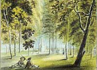 Strazdumuiza park - Joy of Dorothea in  1792